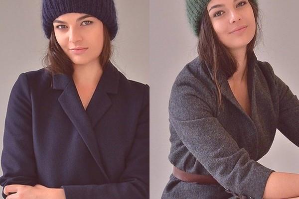 aede9ac45fec Originálne klobúky a jednoduché pletené čiapky a barety by mali zdobiť  exteriér a dopĺňať obraz