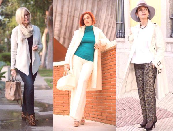 245e43d198b En 2019, para mujeres mayores de 50 años para la primavera-verano, se  ofrecen pantalones hechos de materiales naturales como algodón o ropa de  cama.