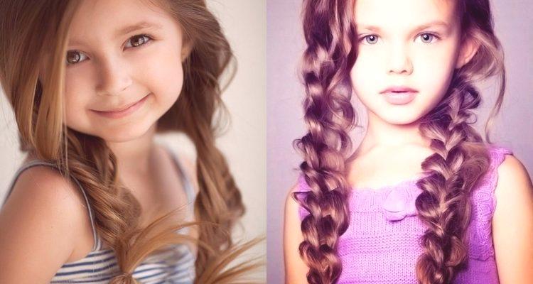 Fryzury Dla Dziewczynek W Ogrodzie Za 5 Minut Lekkie Piękne