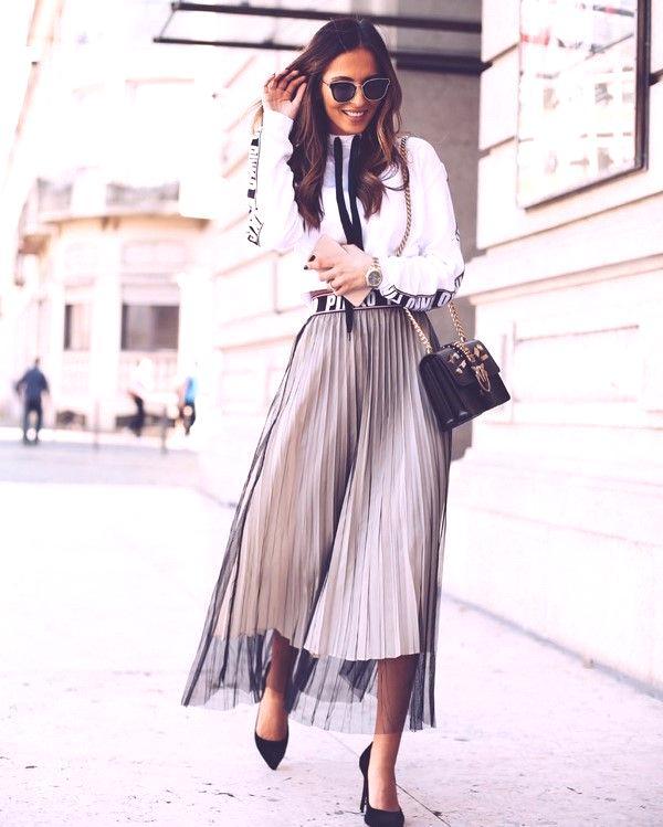 fc548305a0da Letné sukne v roku 2019  módne trendy