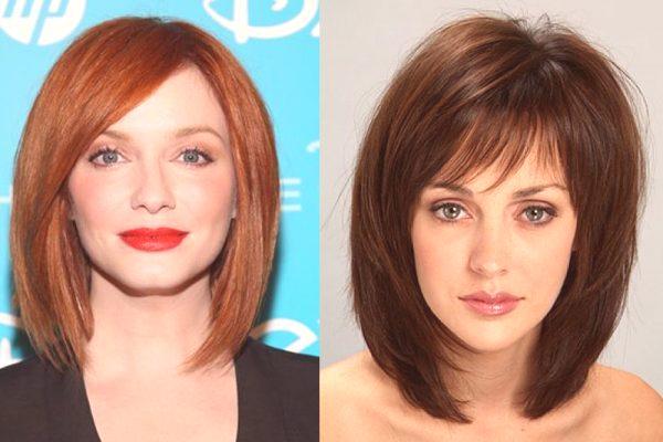 Fryzury Dla średnich Włosów 2019 Kobiety Zdjęcie Po 40 Nowe