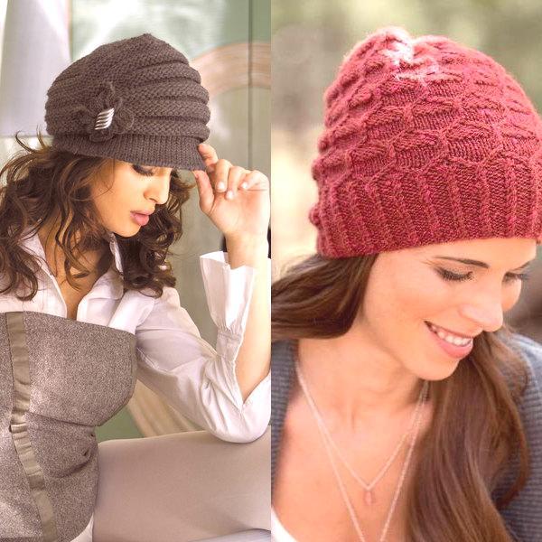 99998329bbe2 Sada pletených klobúkov a rovnakej šatky bude vyzerať veľmi harmonicky a  elegantne. Odpoveď na otázku