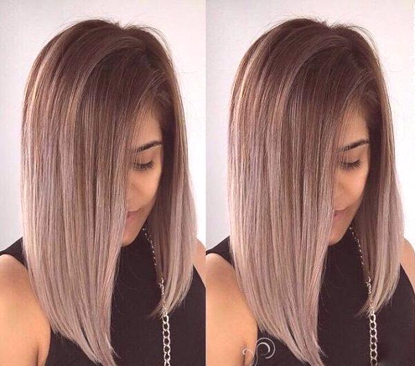 31b7b6f259d0 Módne farbenie 2019 pre stredné vlasy  trendy