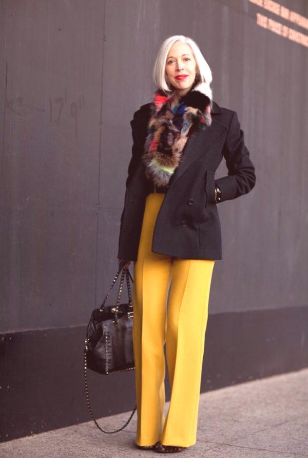 02ed432c Stylowe zdjęcia dla kobiet w wieku 40 lat: kombinacje, modne ...
