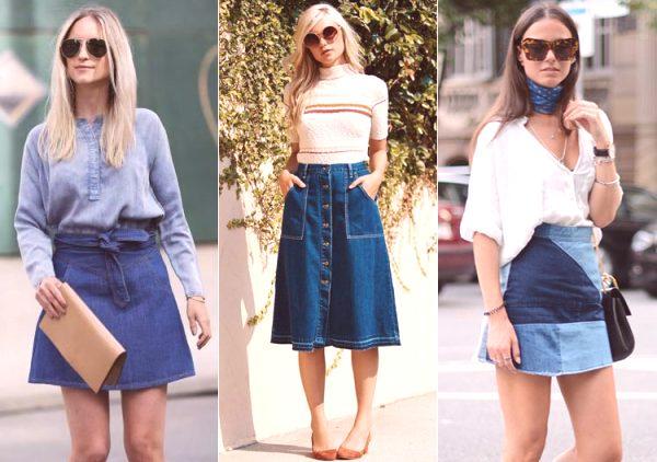 cd19f43d93be Jak nosit džínové sukně  tipy