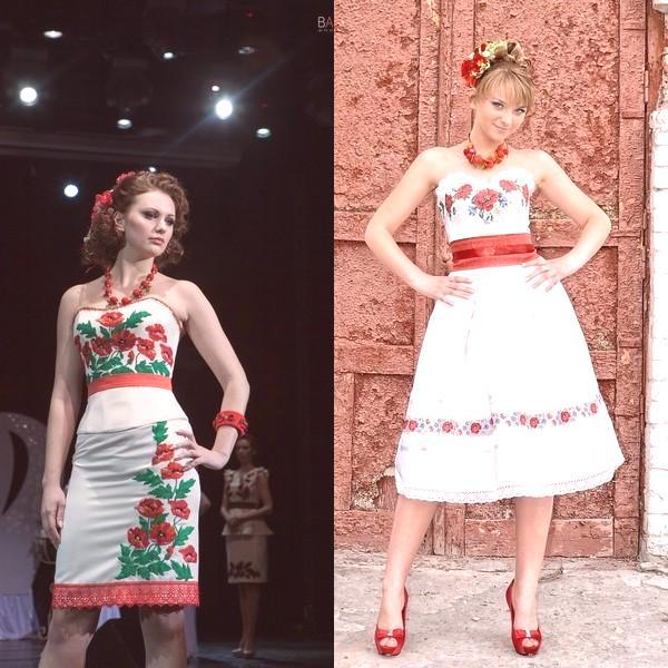 ca20e8158d1c Šaty v ukrajinskom štýle sú zaujímavé svojou jedinečnosťou