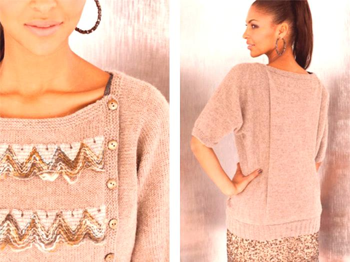 3682f7509a99 Pletený sveter pre ženy - štýlová tenká priadza