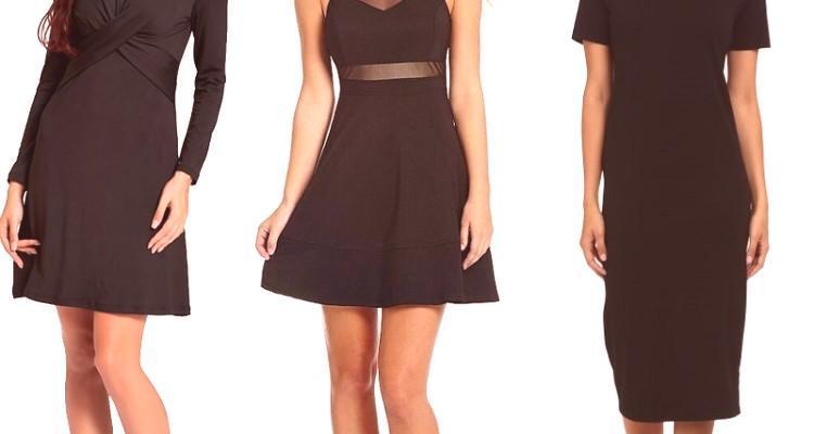 3065f858cfe6 Večerné a kancelárske čierne šaty pre rok 2019 (s fotografiami módnych  nových produktov)