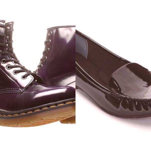 cf398ca008bc Dámske topánky na lak pre 2019  na fotografii modelu na šnurovanie a ...
