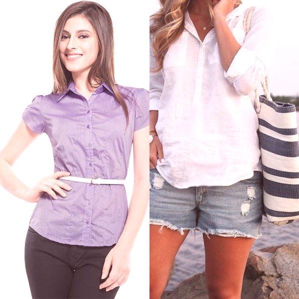 ab8911623 Direcciones de estilo en hermosos modelos de blusas de mujer (con fotos)