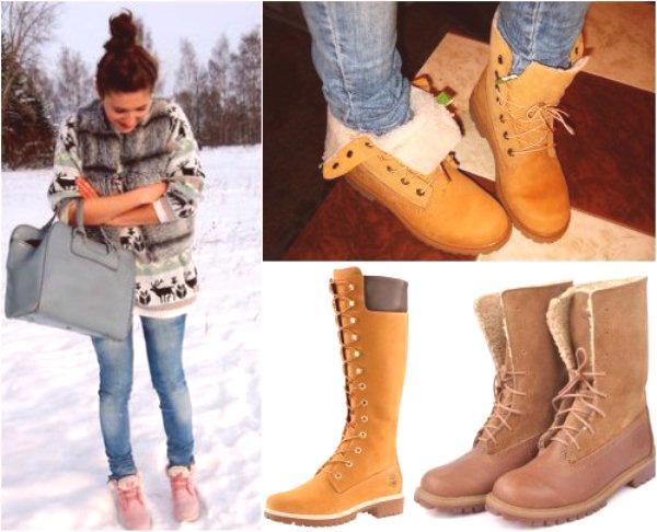 a7ada6b1a90c Ako nosiť holky woodland v zime  módne tipy a fotografie