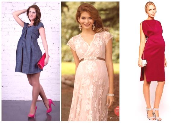 d4771333d0ea Pohodlné a krásne šaty pre tehotné ženy