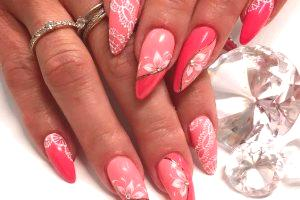 Conception des ongles en corail