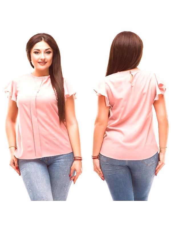 f3a722e6c103 Letné blúzky s krátkymi rukávmi pre obézne ženy