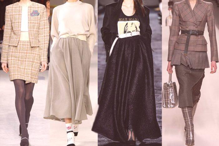 02243d4ddca1 Módne sukne s módnymi prehliadkami slávnych dizajnérov