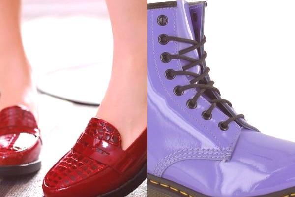 64c01453ef30 Dámské boty pro lak 2019  na fotografii modelu na šněrování a platformě