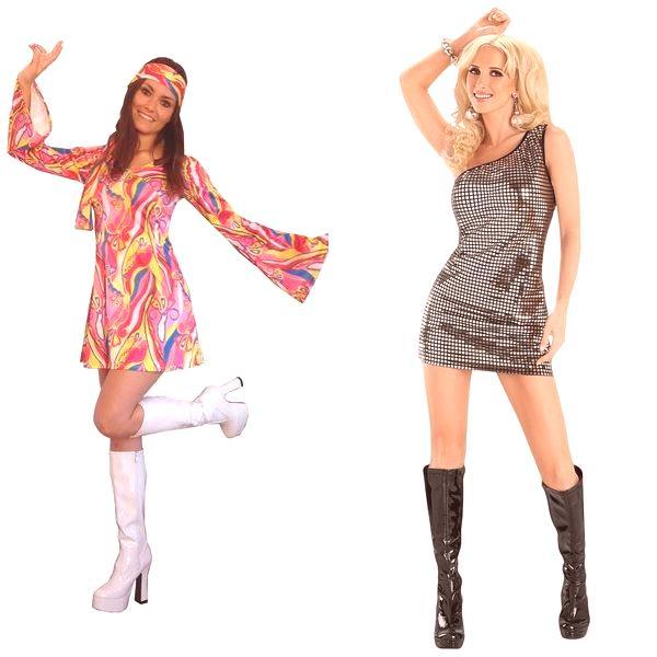 78b08a7a2c7 Днес модните дизайнери все още ни представят колекциите си от рокли в стила  на 70-те години. Дори въпреки факта, че много от атрибутите на онези  времена са ...
