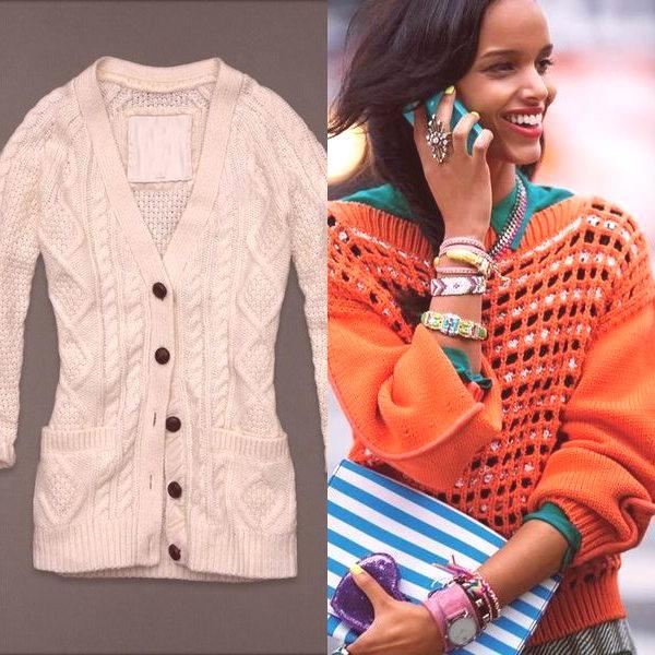 097d6729b230 Módne pletené svetre pre 2019  na fotografii sú ženské modely pre ...