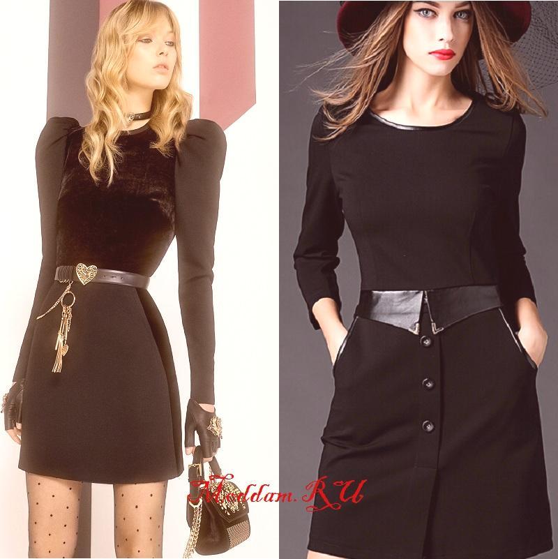 a8f8fbb7828e Večerné a kancelárske čierne šaty pre rok 2019 (s fotografiami módnych  nových produktov)
