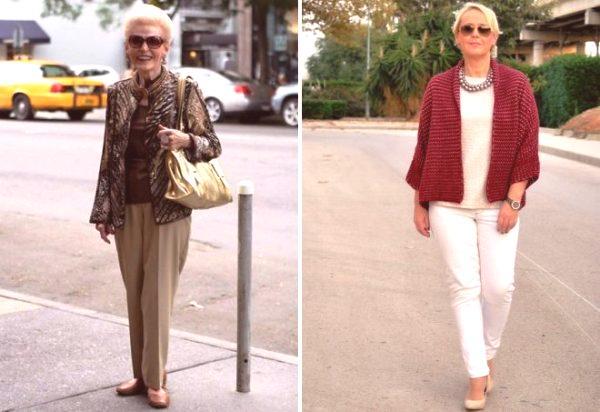 e8105ac2f975 V roku 2019 sa pre ženy nad 50 rokov na jar a leto ponúkajú nohavice z  prírodných materiálov