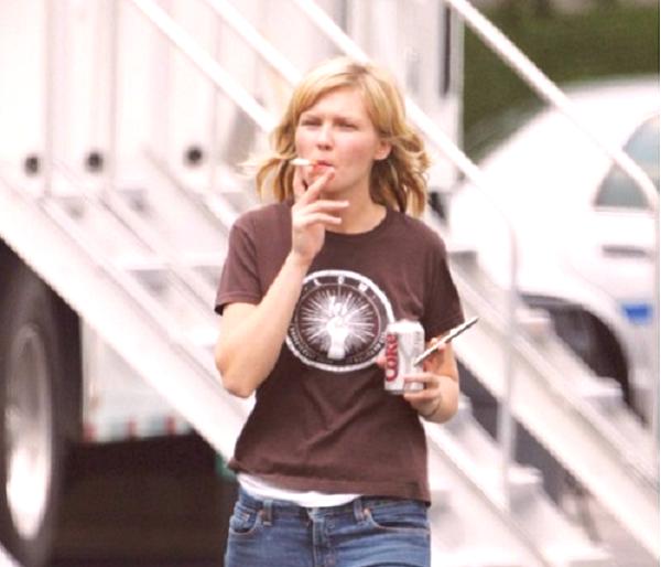 Ona dáva fajčenie