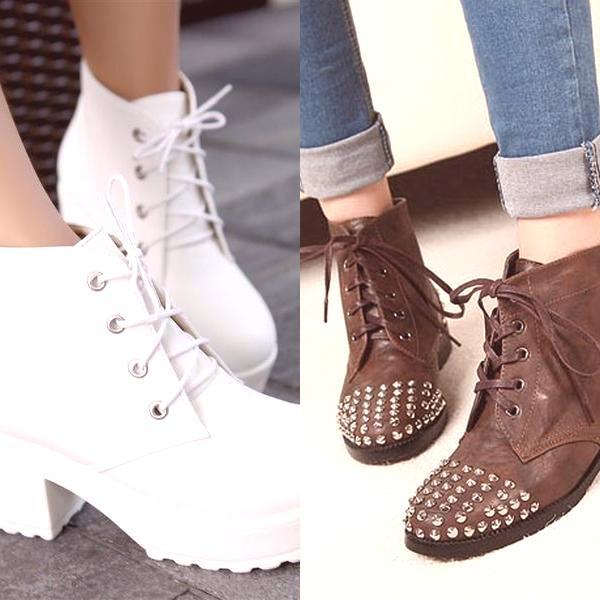 8e2ab6f9ad78 Módne dámske topánky na jeseň 2019  na fotografii modelu bez päty a ...