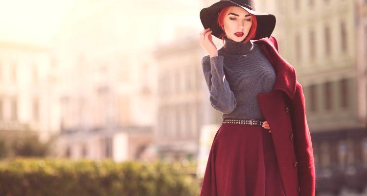281c84651 Con qué llevar una falda vinosa: cómo combinar, accesorios, imágenes ...