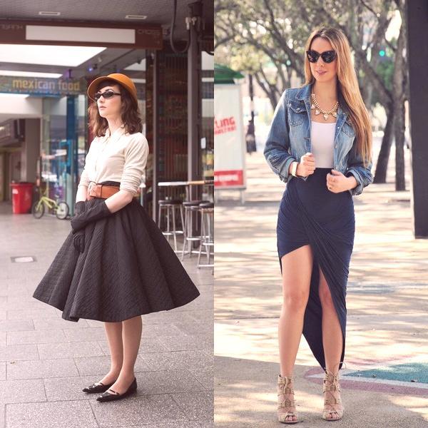 654e69d8534b Veľkolepé štýly sukní sú romantikou a rafinovanosťou siluety .