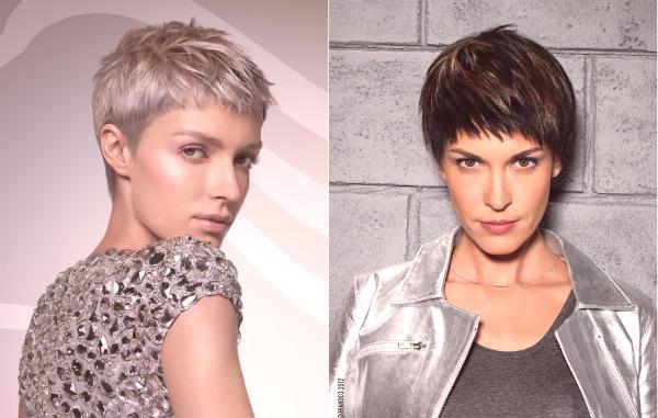 Strzyżenie Garson Na Krótkich Włosach Stylizacja Mody Trendy Fot