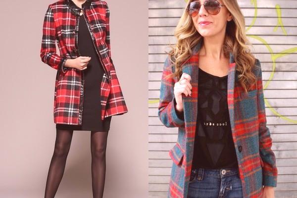 cc5bf1a3c4 Le manteau à carreaux pour 2019 est la tendance absolue de la saison, et de  nombreuses femmes à la mode ont déjà acquis cette chose exquise.