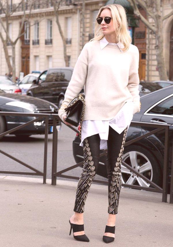 6d3f1fdc99 Camisa blanca  qué ponerse y combinar  imágenes de moda