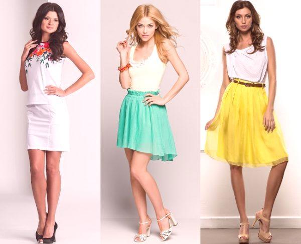 764446911102 Letní sukně by měla zdůrazňovat ženskou krásu