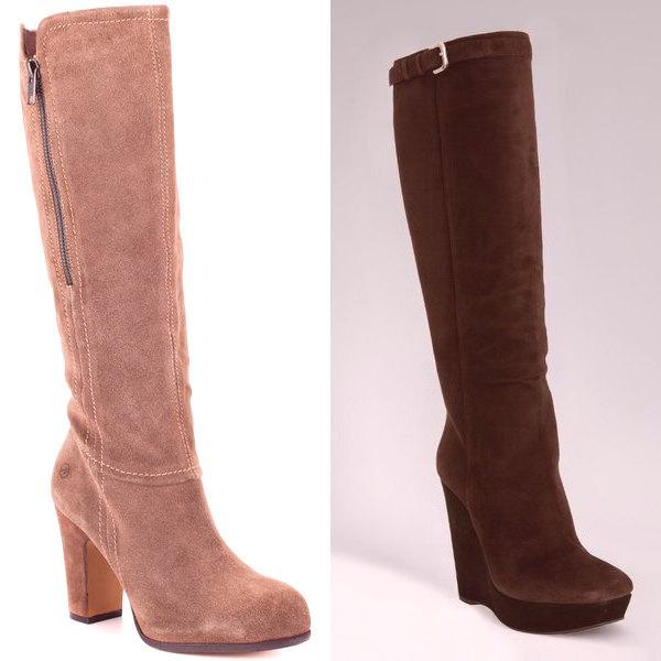 7bd1e30d93dd Pozrite sa na fotografiu módnych semišových topánok pre ženy rôzneho veku -  je tu veľa na výber z vhodnej teplej a praktickej topánky pre rok 2019