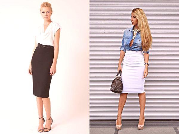 559862fd5e Spódnice z wysokim stanem  trendy mody 2019