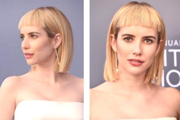 Fryzury Dla średnich Włosów Z Grzywką Nowe Przedmioty