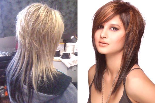 Stopniowane Fryzury Dla średnich Włosów Odmiany Zdjęcia