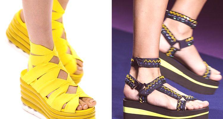 abba91d72f Leto 2019 topánky  módne trendy (foto)