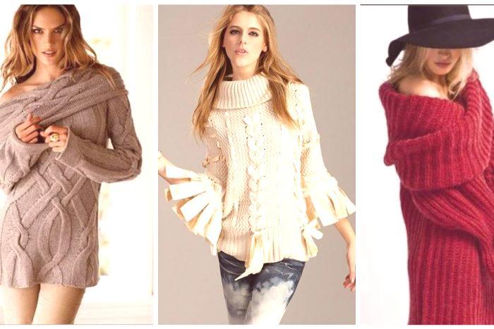 5bf19ee19712 Módne svetre pre ženy 2019 - trendy