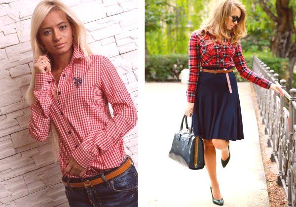 7c1048392c4c Dámske módne košele 2019  módne trendy