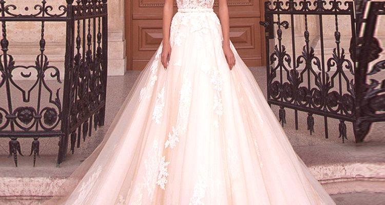 2fadde28d754 Svadobné šaty 2019  módne trendy