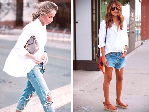 5b6706f6ca Este estilo es amado por los estilistas y se incluye a menudo en el  conjunto de la cápsula de ropa. Complementa este modelo con blue jeans