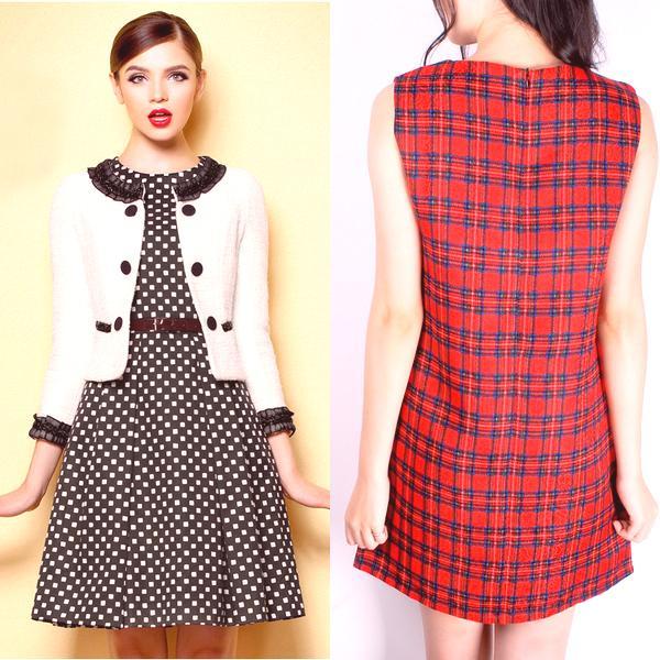 23735a59894e Vyberáme si perfektné šaty a naučíme sa ich kombinovať s inými odevmi a  doplnkami. Pozrite sa na fotografiu nových štýlov módnych šiat v klietke s  ...