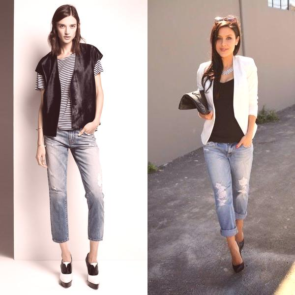 80d75741958b Dámske džínsy móda pre 2019  na fotografii módne džínsové jar-leto