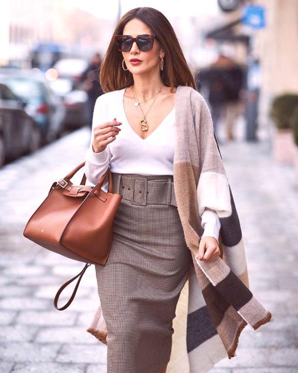 4710840dd Faldas largas de moda 2019: tendencias de la temporada, tendencias ...