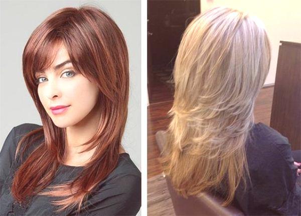 Fryzury Z Krótką Koronką Modne Na Długie średnie Włosy